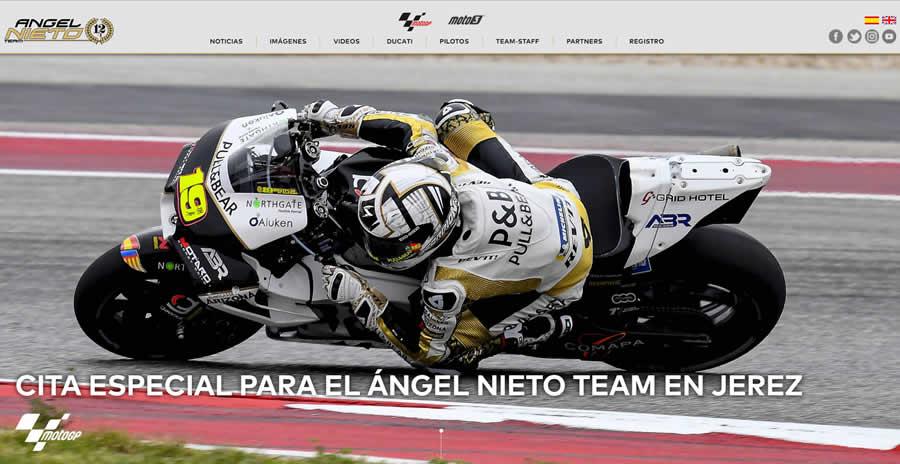 diseño y desarrollo angel nieto team