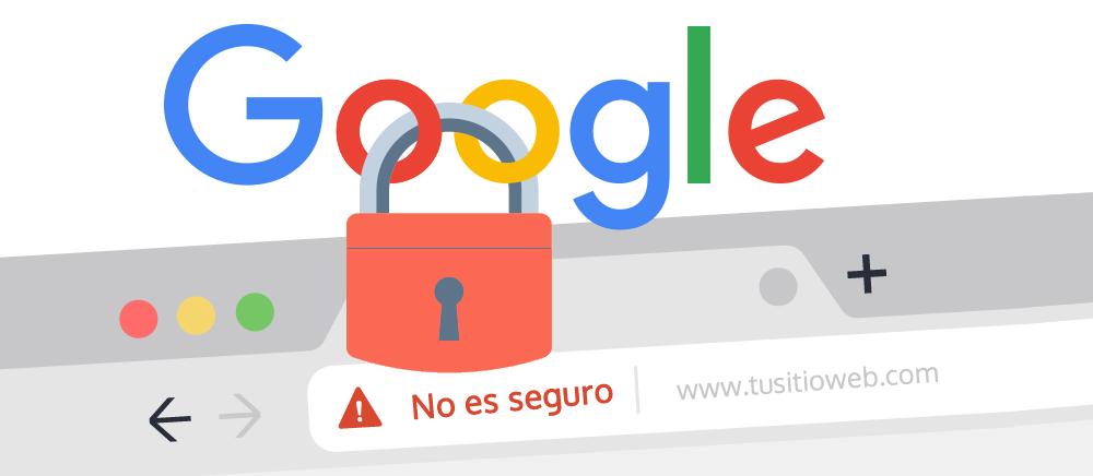 Google penaliza las web que tengan un certificado digital o naveguen por HTTPS